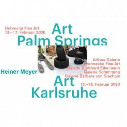 Heiner Meyer op 2 internationale kunst beurzen