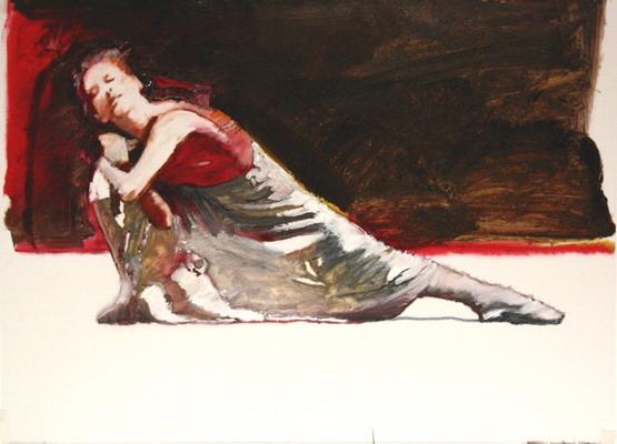 Dancer Red & White