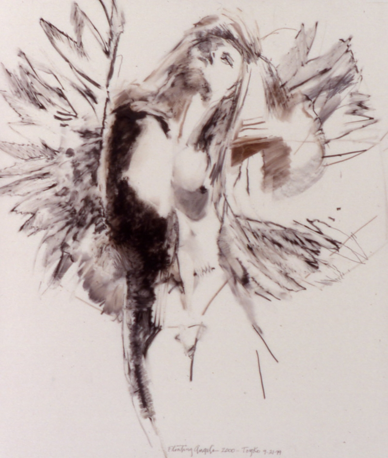 Study Floating Angel # 11
