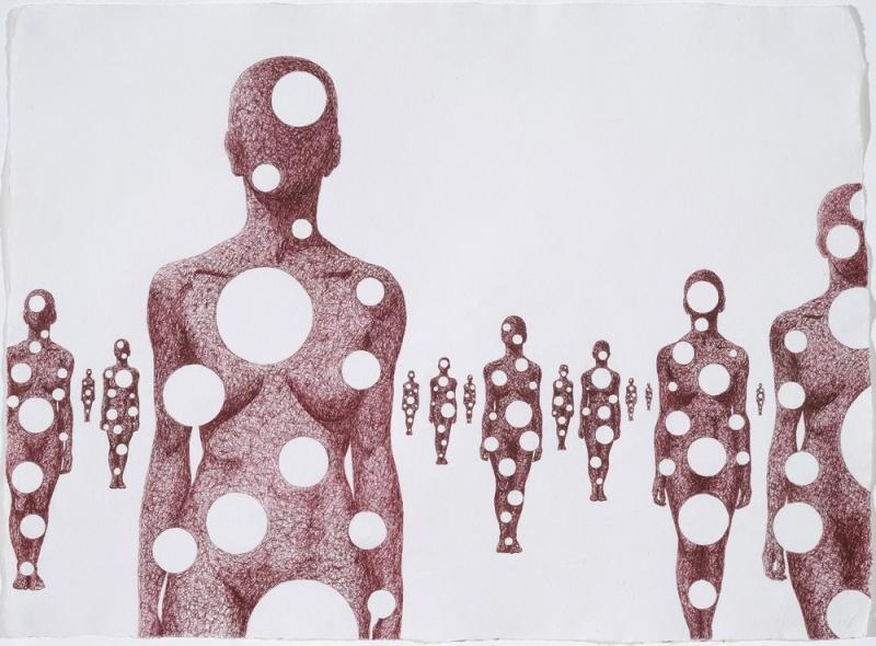 The holes mass