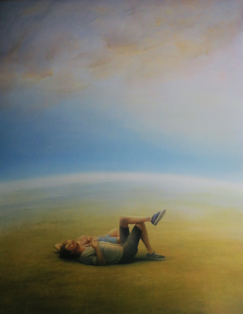 Lying on the Earth (Sold)