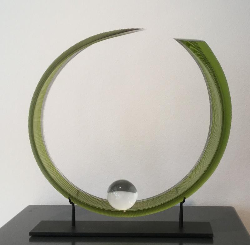 Green curled  Leaf (Sold)
