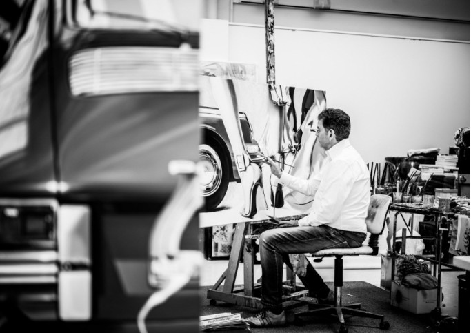 Heiner in Studio