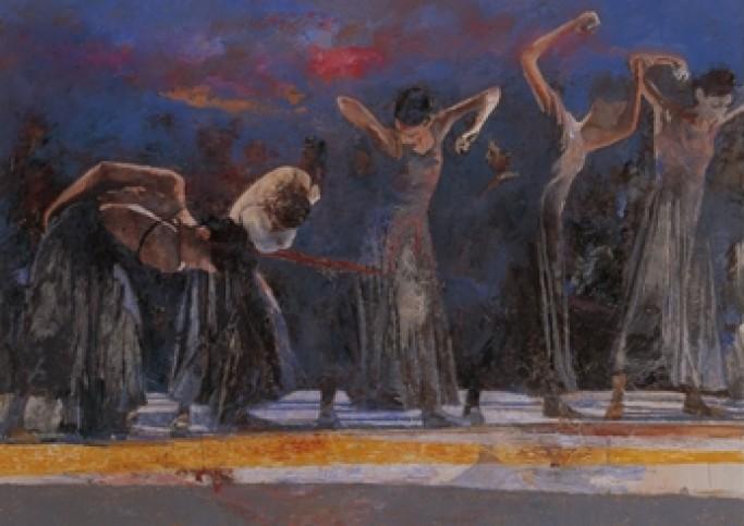 Five Dancers RH