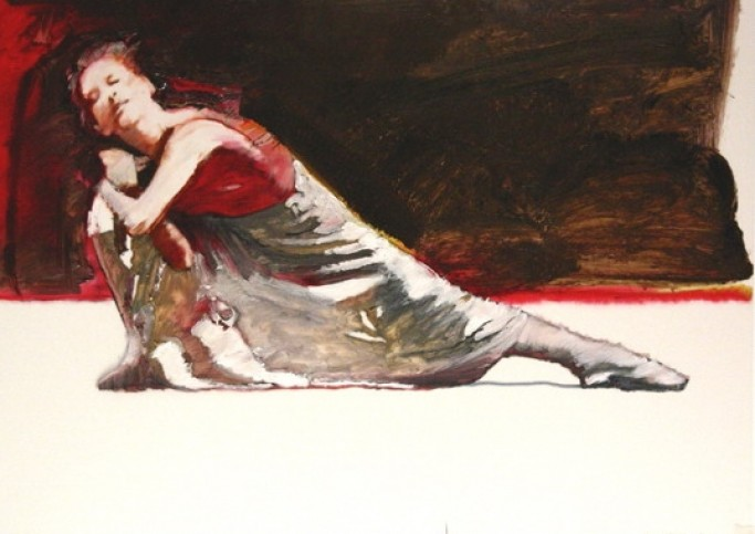 Dancer Red and white RH